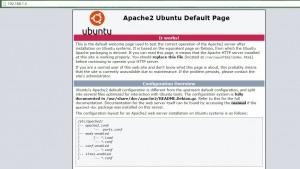 Página Apache