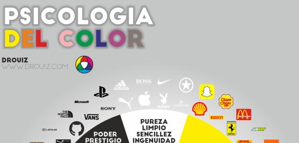 infografía psicología del color