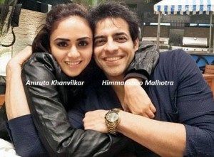 Amruta Khanvilkar and Himmanshoo Malhotra   Nach Baliye 7 Contestants   Nach Baliye 2015 Contetants