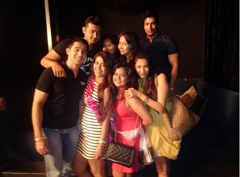 Ankita Bhargav bachelor party