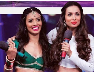 Malaika Arora Khan and Pooja | India's got talent 2015