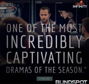 Plot of 'Blindspot' Colors Infinity New Series