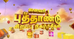Sun TV New Year Special Programmes on 1 January
