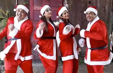 Christmas Celebration in TV Serials   25 December Celebration