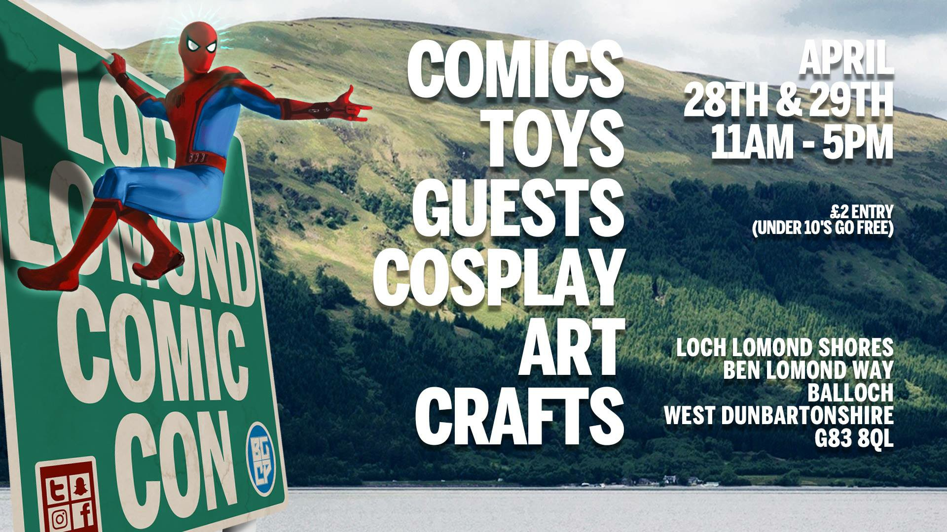 Loch Lomond Comic Con
