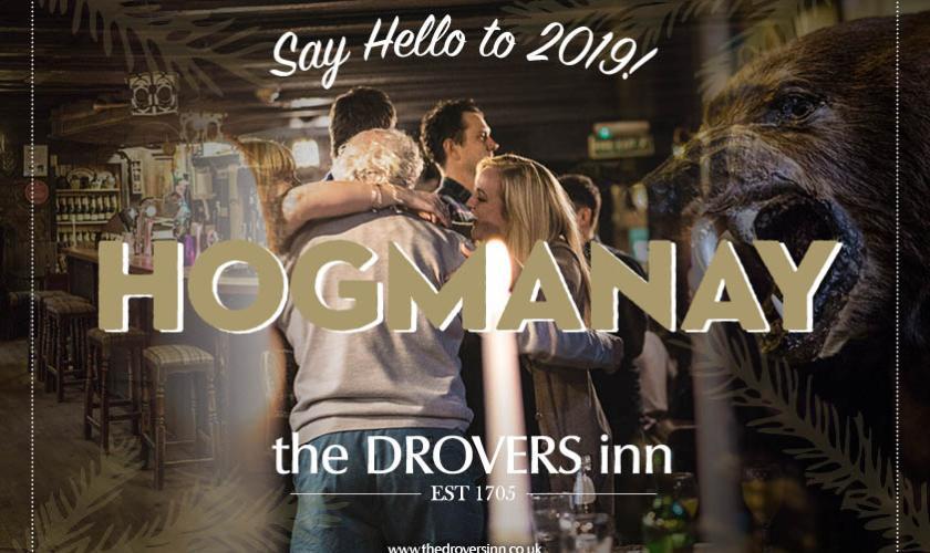 Drovers Inn Hogmanay 2018-19