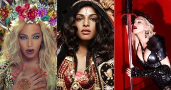 M.I.A. accuses Madonna, Beyoncé and Rihanna of stealing her sound.