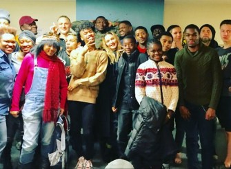 Madonna spent the Thanksgiving at a Homeless LGBT Youth Center