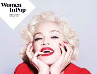 Madonna on the cover of Women In Pop