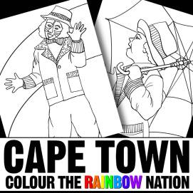 Kaapse Klopse - Cape Town: Colour the Rainbow Nation Coloring Book by Pearl R. Lewis