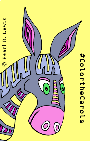 #colorthecarols - The Blessed Donkey from Color the Trumpet Carols