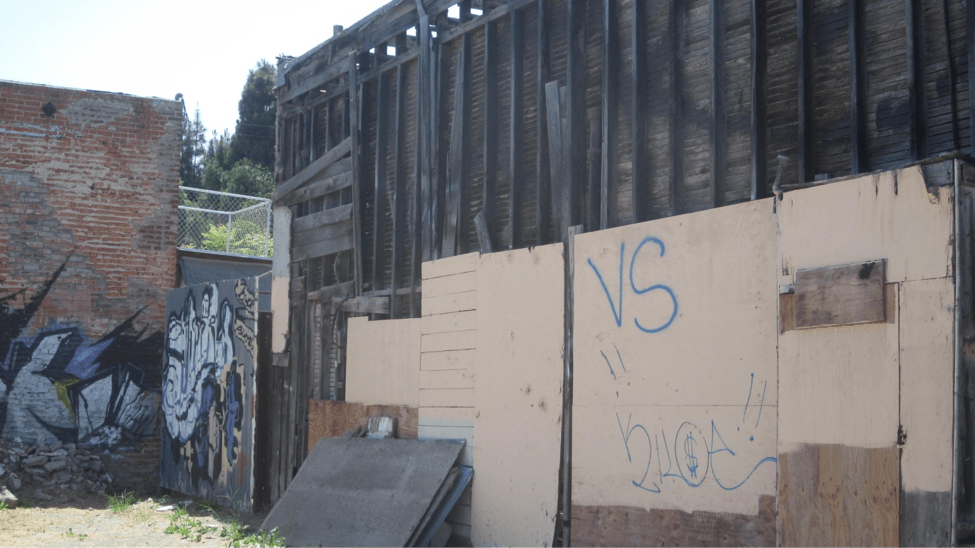 Fire Damaged Building