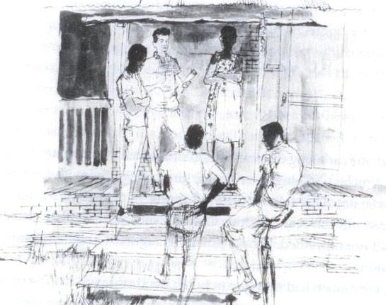 Freedom Summer drawing