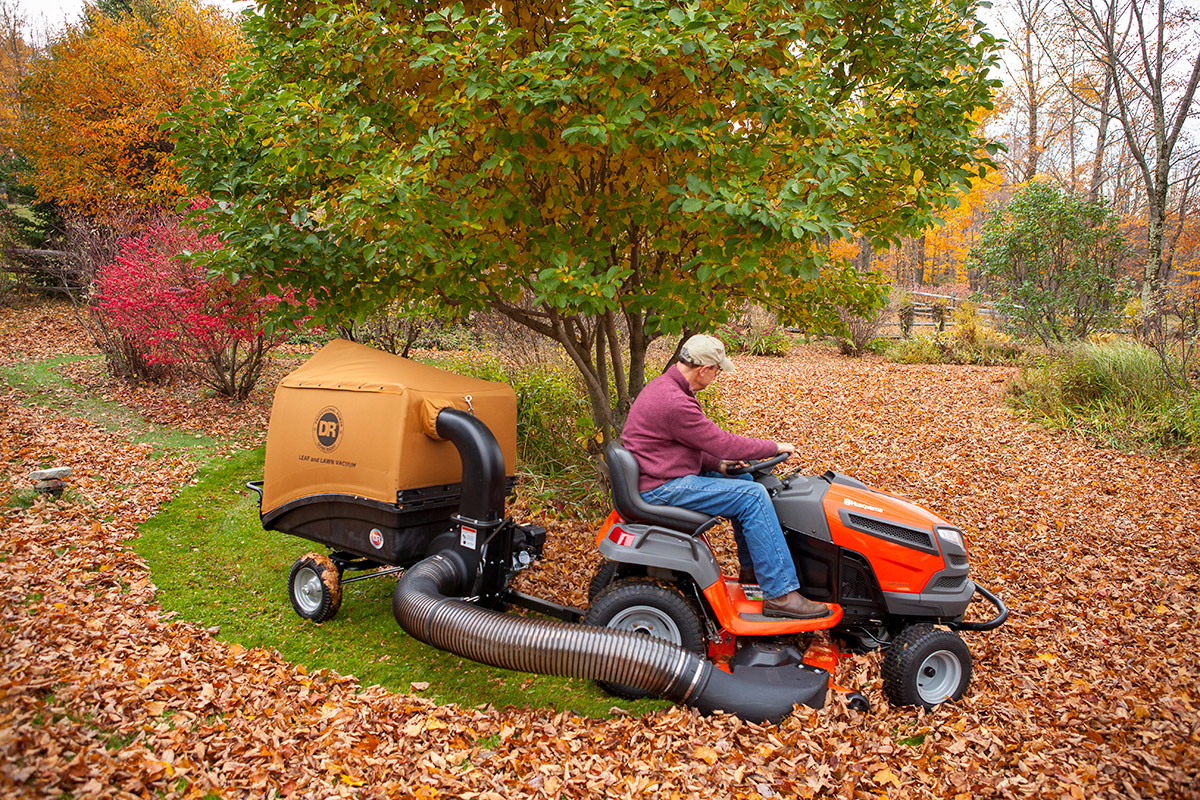 Dr Leaf Vacuum Lawn And