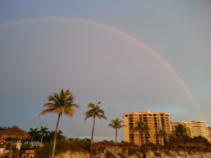 RRainbow over Marco Island