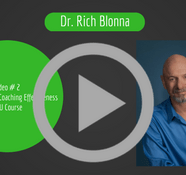 Maximize Your Coaching Effectiveness CEU Course: Video # 2 Valued Directions