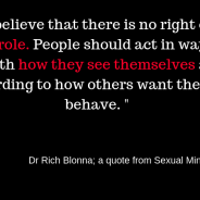 Sexual Mindfulness Book: Ch. 4 Gender Role