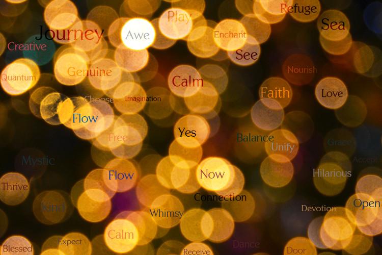 Golden-Words-Orb-Art
