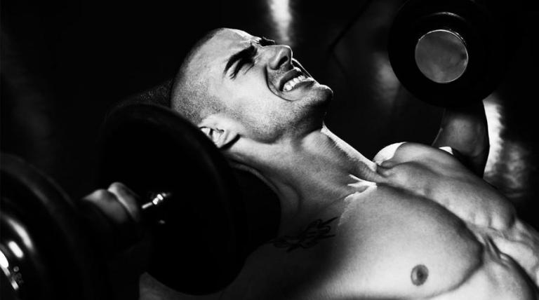man working out cancer prevention