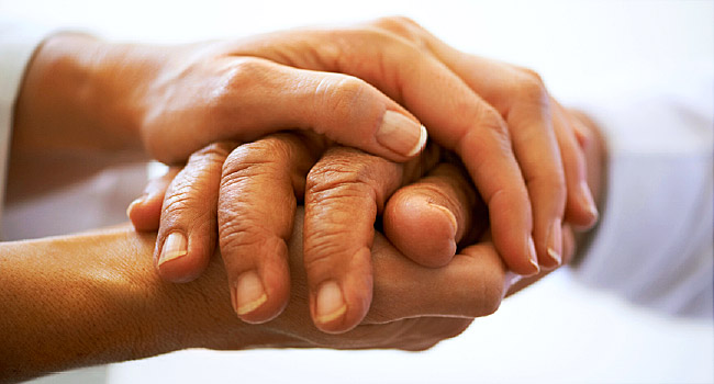 hands cancer treatment