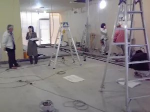 仙台院内装工事 1月7日