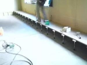 仙台院20110113 床が作られて行ってます。