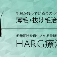 [HARG療法]最新毛髪再生治療