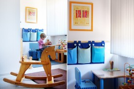 Kinderbereich im Wartezimmer
