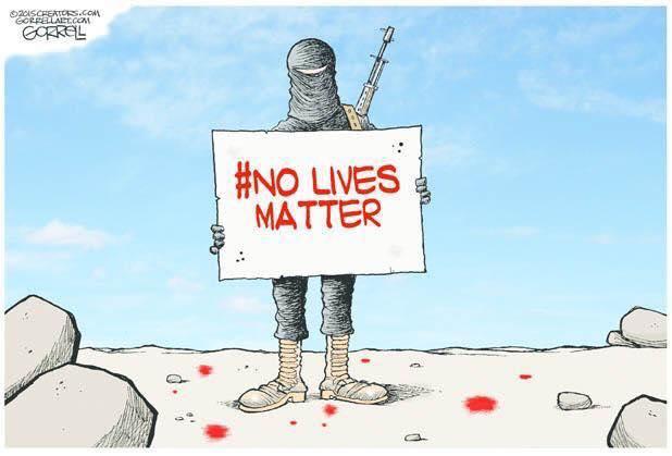 Islam No Lives Matter