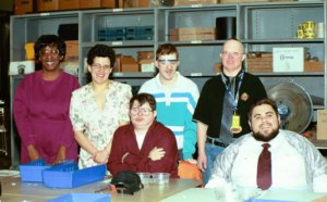 2003: Mobile Workforce poses for a picture at Pelco
