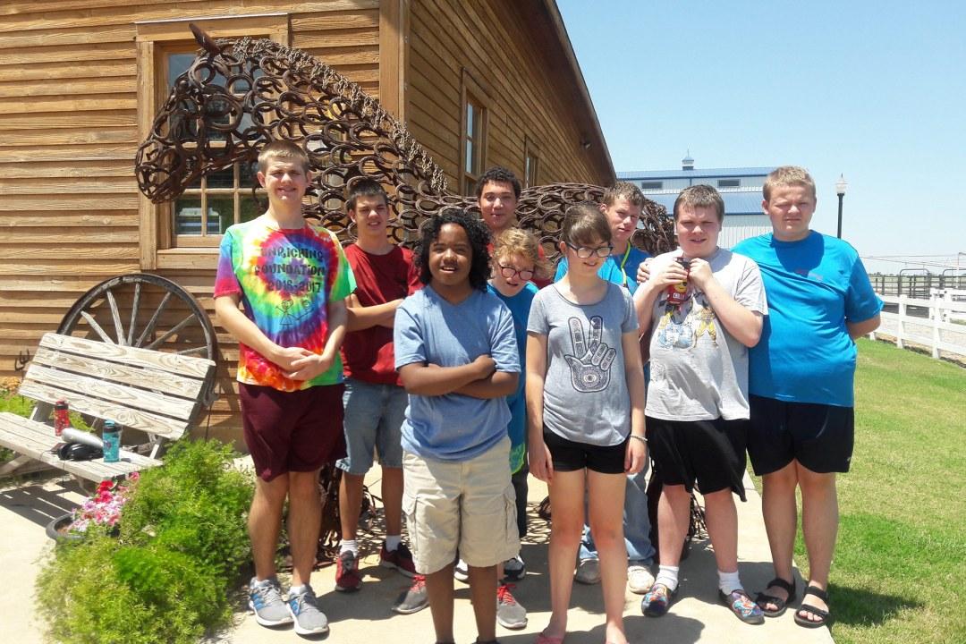 Camp Tumbleweed visits Express Ranch