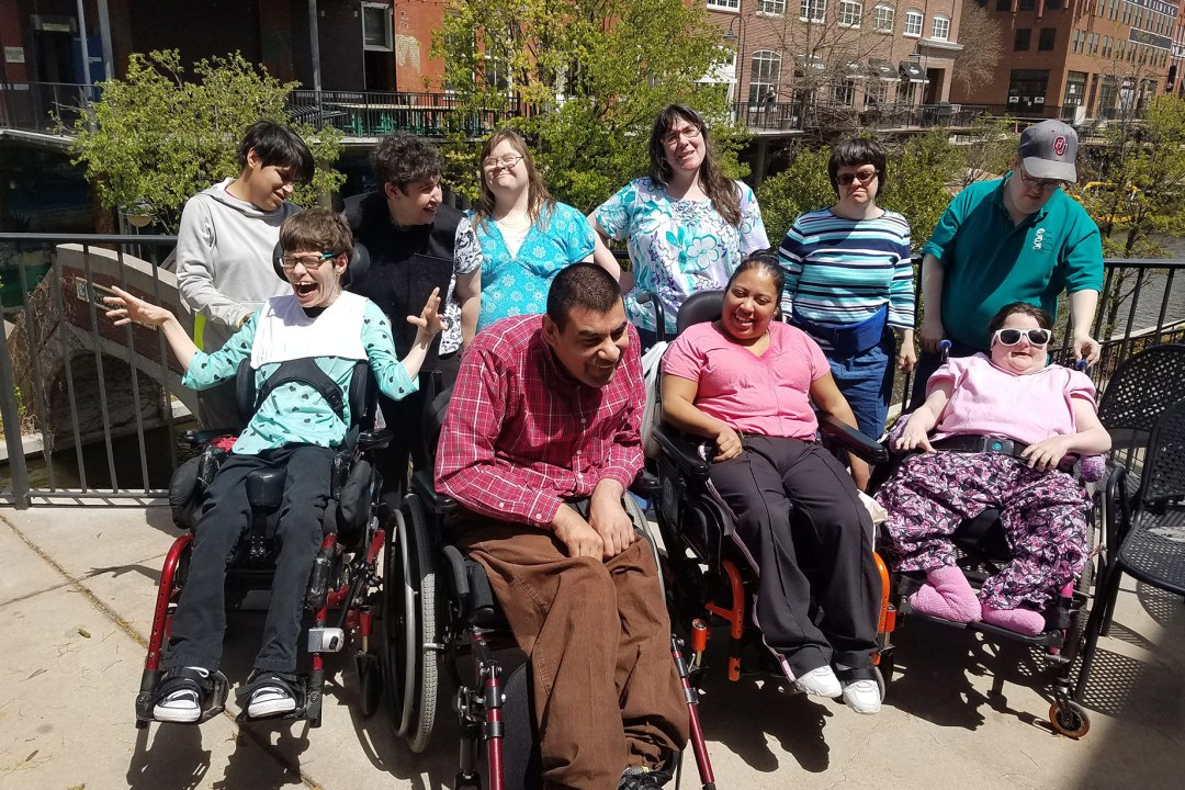 DRTC's Special Needs Program on an excursion to Bricktown.