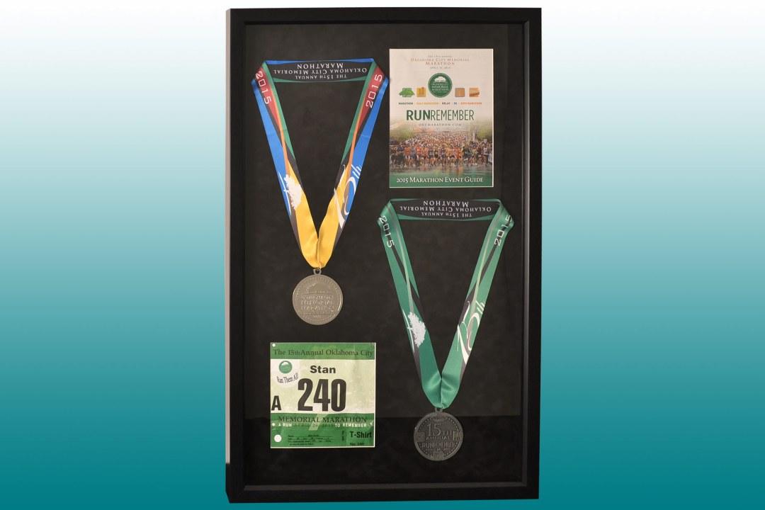 OKC Memorial Marathon medals
