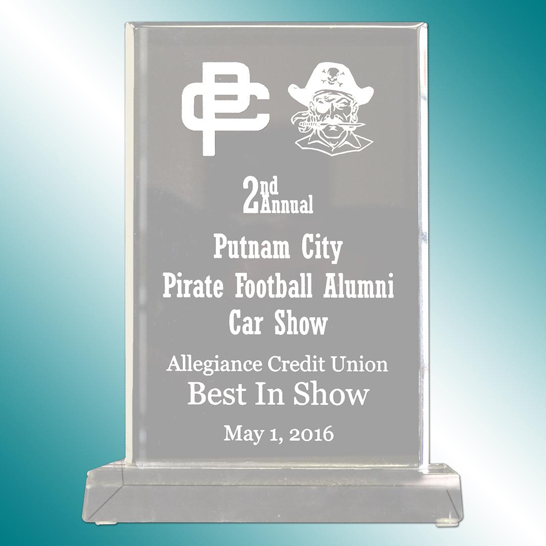 Putnam City acrylic award