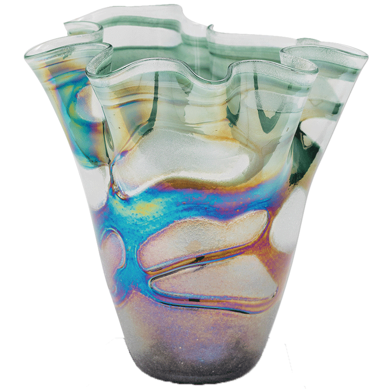 1125 Art Glass Vase Dale Rogers Training Center