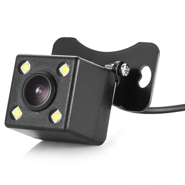 120 Degree Car Backup Camera with 4 LED Night Vision Light 1