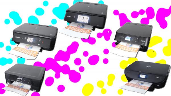 Test Gunstige Tintendrucker Von Brother Canon Epson Und Hp Funf Drucker Im Ring Druckerchannel