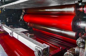 Druckwalzen einer Offsetdruckmaschine