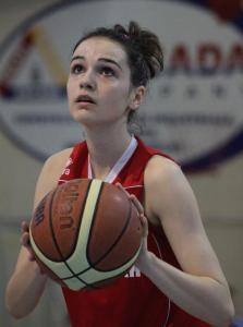 Brigitte Steiner, autoare a 31 de puncte în meciul cu Sibiul