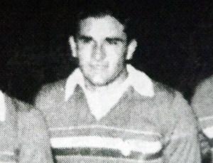 Constantin Jude ca jucător, în 1956, după titlul cucerit la handbal în 11
