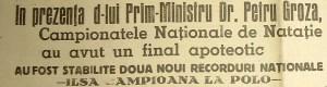 Titlu GSP - ILSA campioana 1946