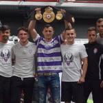 """Flavius Biea își va prezenta centura WBA Continental la derby-ul Politehnica – UTA: """"Deși sunt arădean, Timișoara e casa mea"""""""