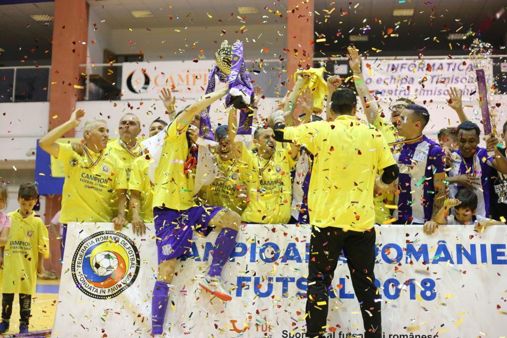 e43b59fa5d Futsalul intră pe lista disciplinelor care au adus titluri în Timișoara
