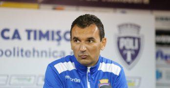 """Cosmin Petruescu, după victoria cu ACS Poli: """"Am dominat atât la posesie, cât și la numărul și claritatea ocaziilor"""""""