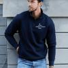 Eifach-Töfffahre-Half Zip Sweatshirt