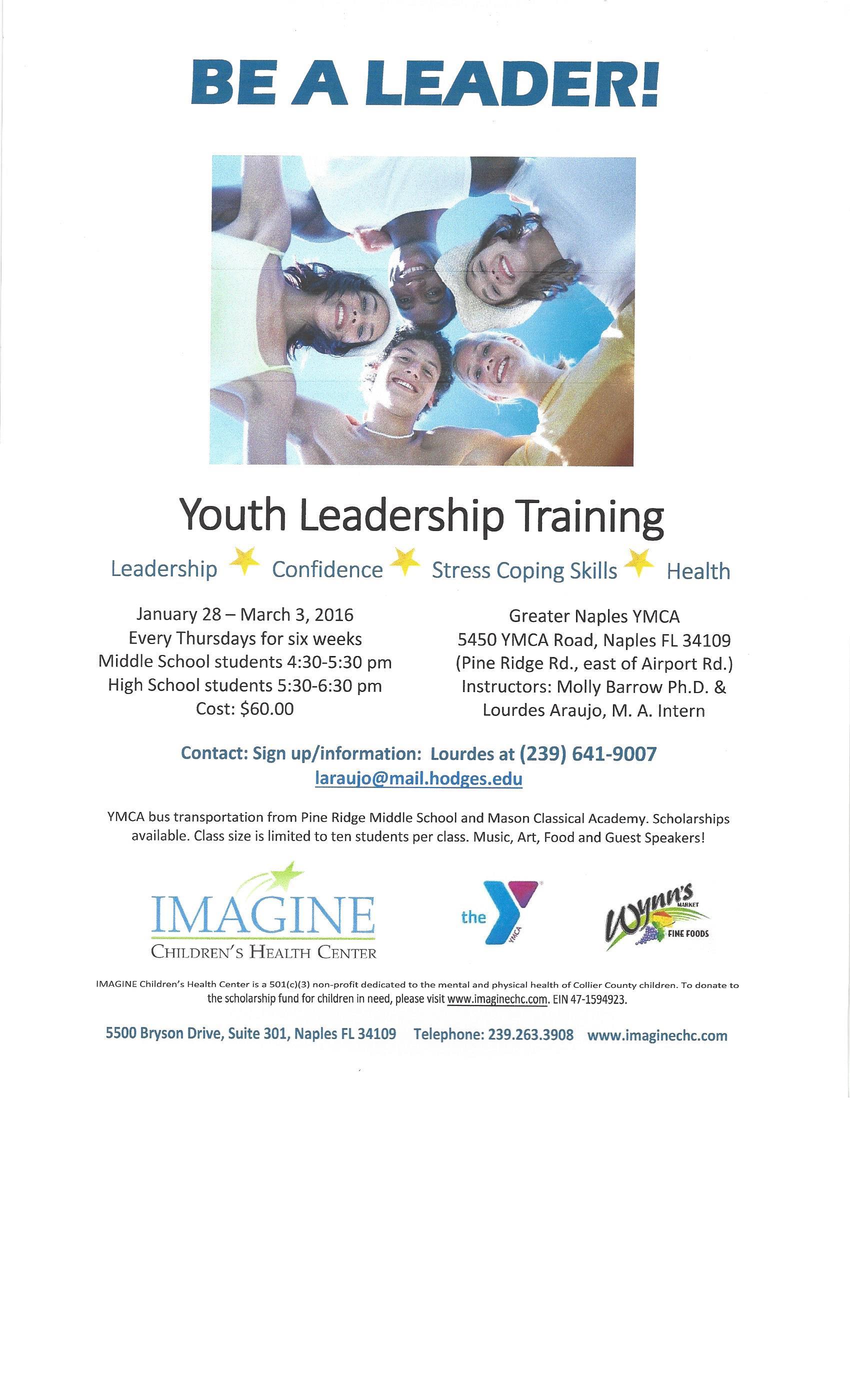 Leadership Worksheets For Highschool Students