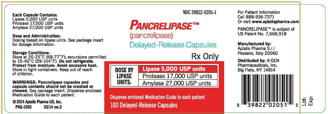 Pancrelipase FDA Prescribing Information Side Effects