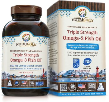 Best fish oil supplements for memory and focus