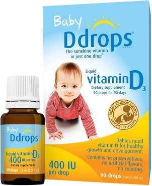 best vitamins for babies 6-12 months