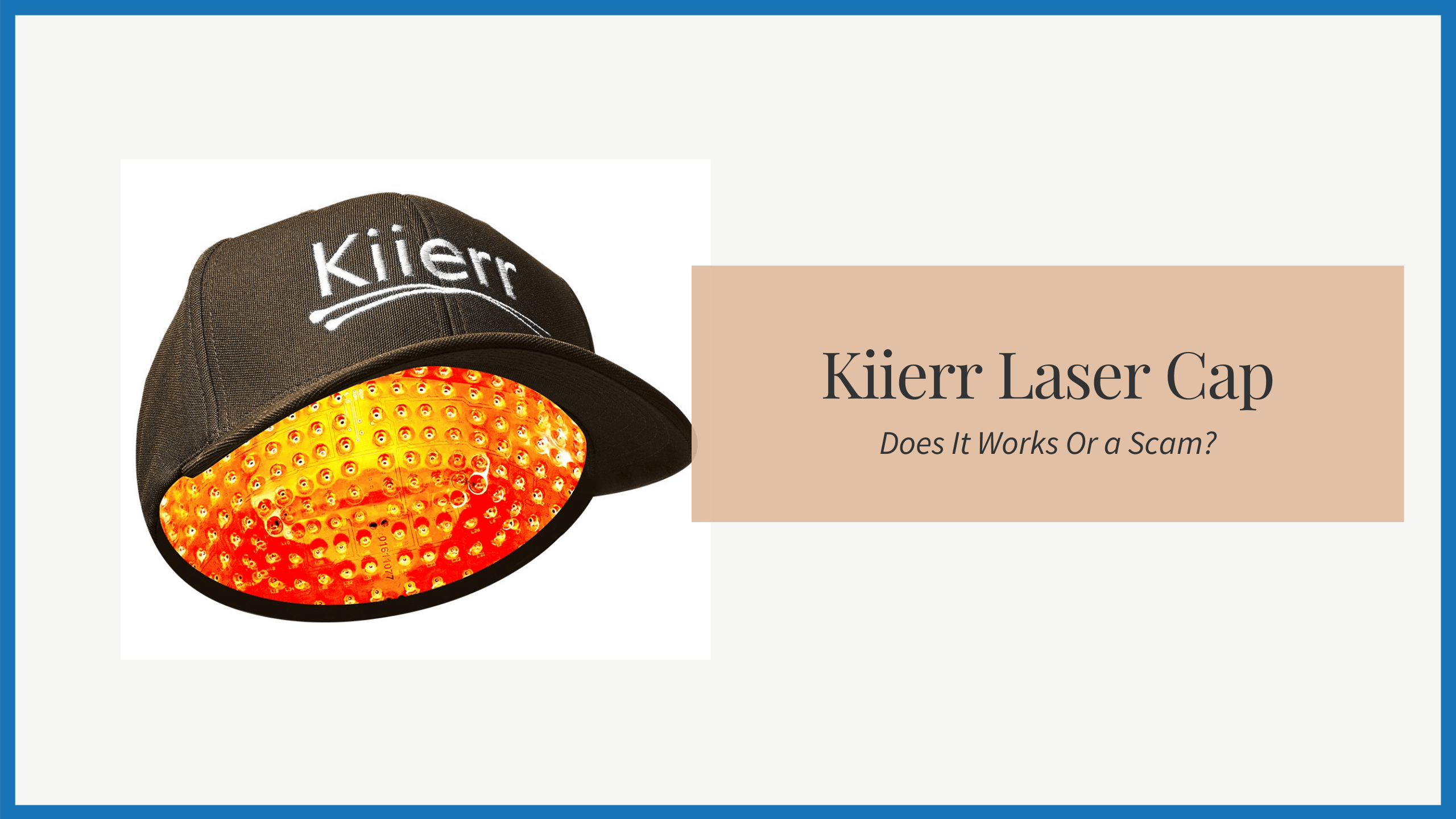 Kiierr Laser Cap Reviews